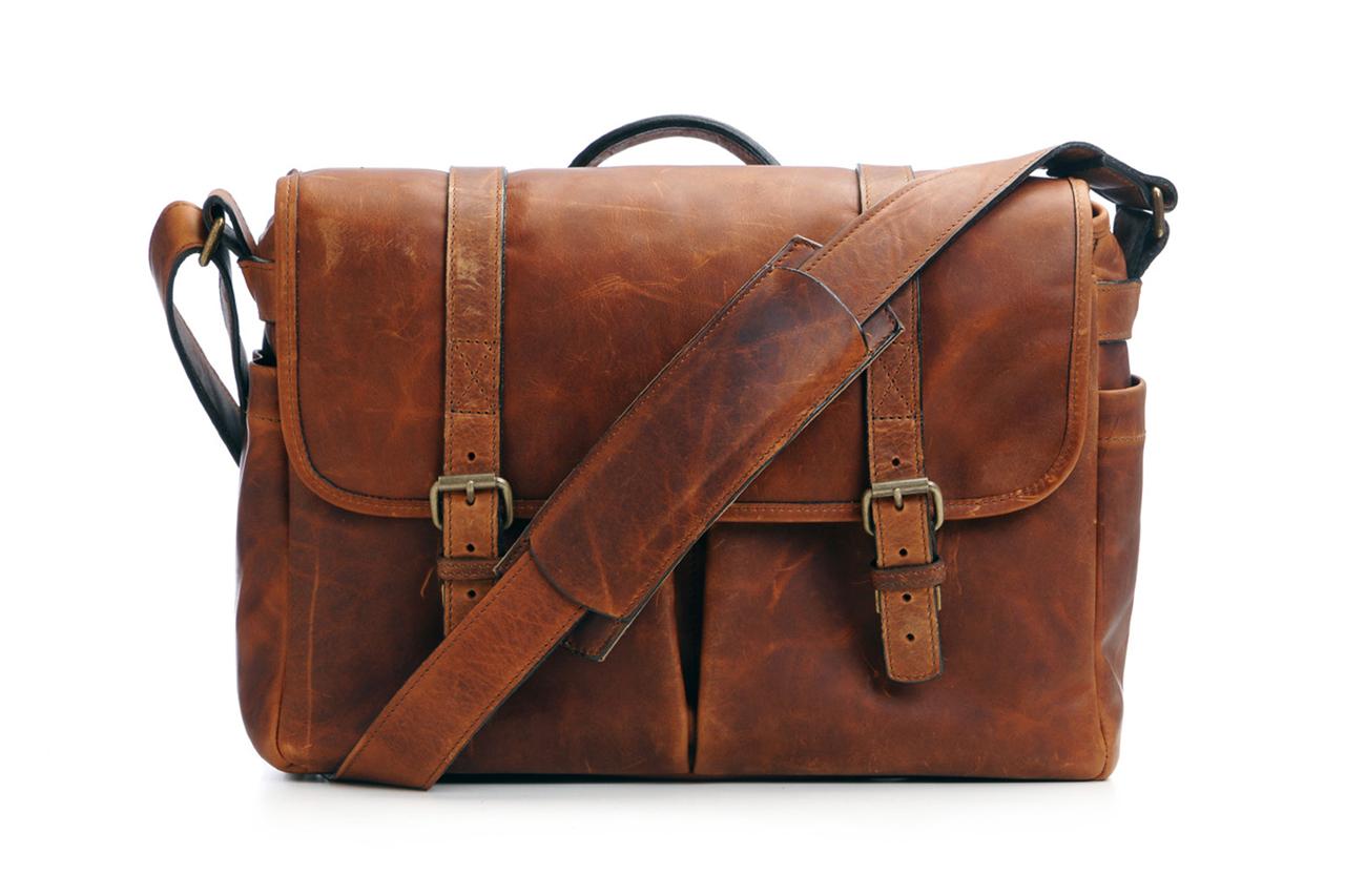 ONA Leather Brixton Camera Laptop Bag