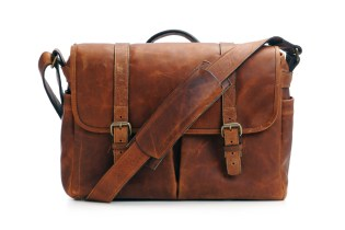 ONA Leather Brixton Camera Laptop Bag