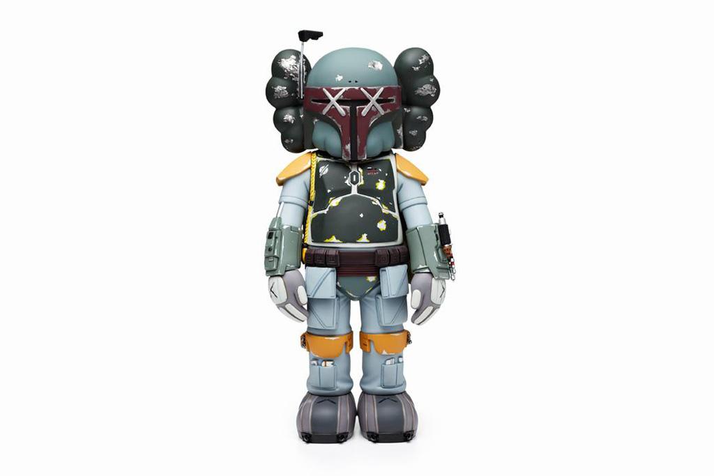 OriginalFake KAWS Boba Fett Companion Tokyo Exclusive