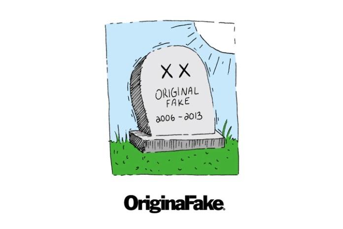 OriginalFake to Close Down This Year