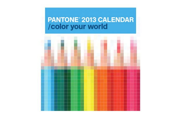 PANTONE 2013 CALENDAR / color your world by Pentagram