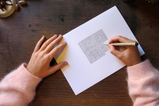 Pen & Paper: Claire Duport