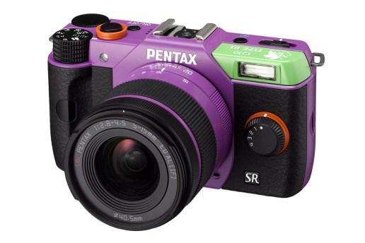 "Pentax Special Edition ""Evangelion"" Q10 Cameras"