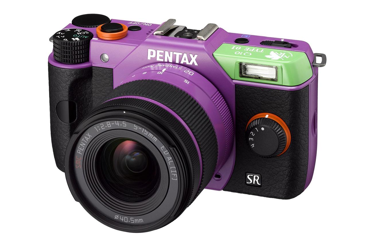 pentax special edition evangelion q10 cameras