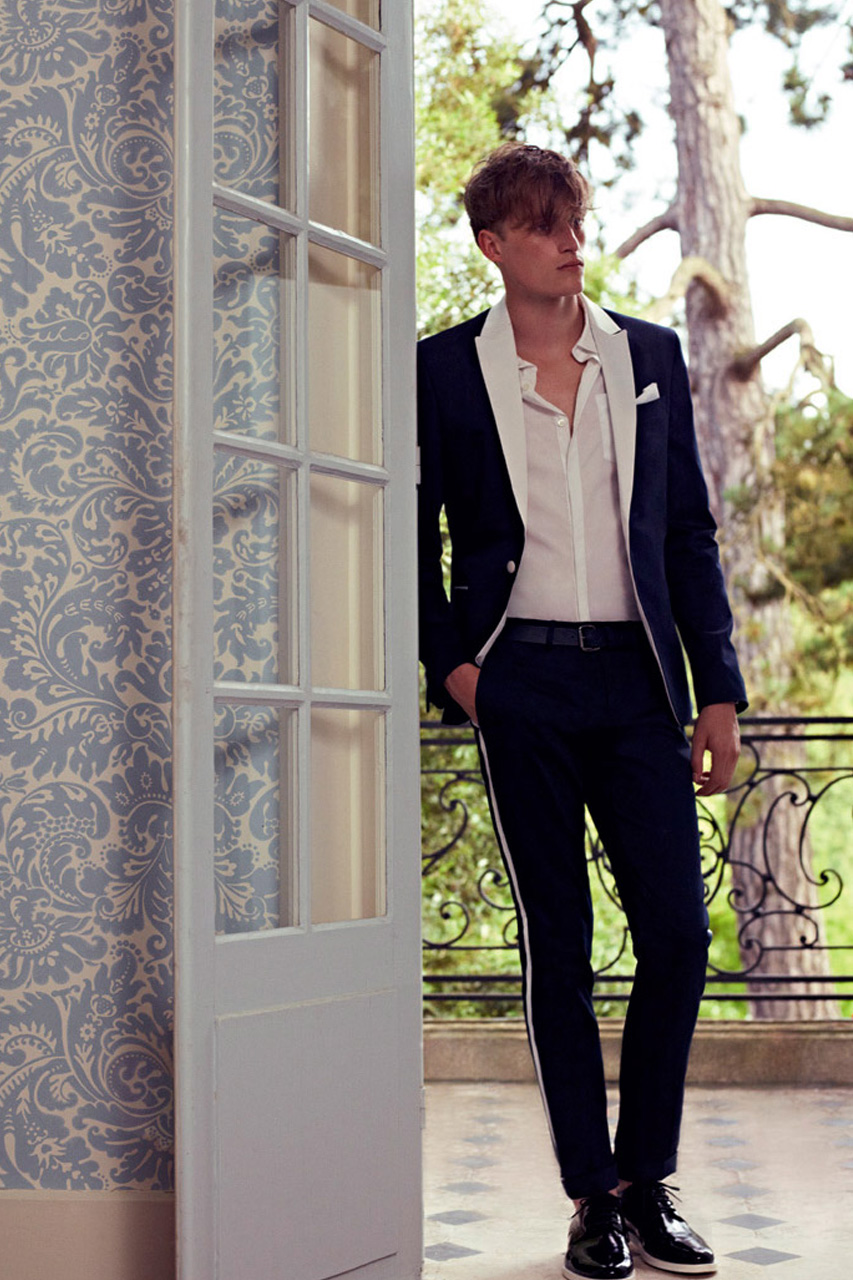 pierre balmain 2013 spring summer lookbook