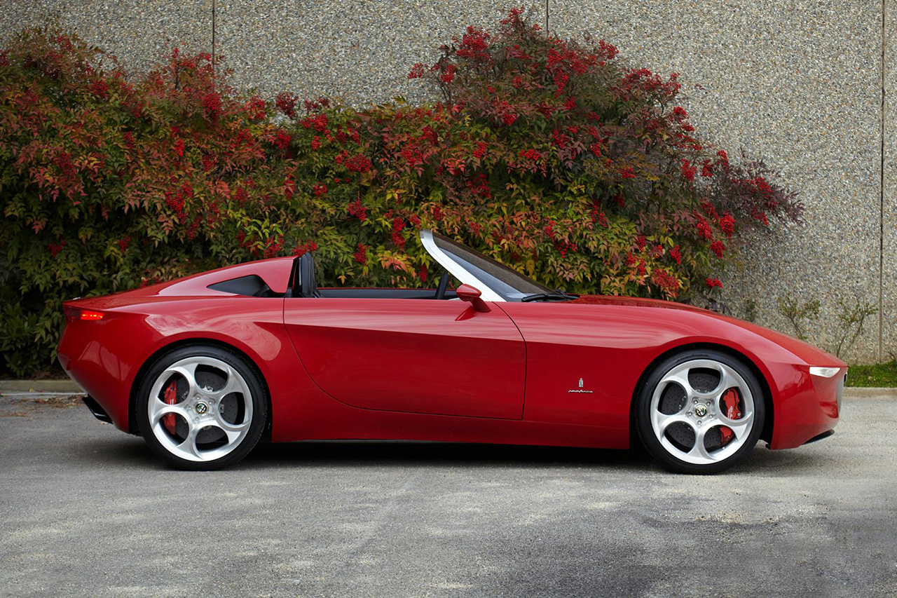 Pininfarina Alfa Romeo 2uettottanta Concept is Set for Production in 2015