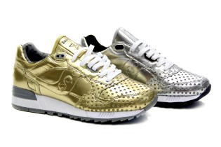 "Play Cloths x Saucony Shadow 5000 ""Precious Metals"" Pack"