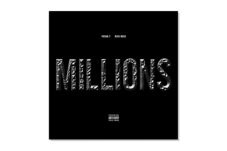 Pusha T featuring Rick Ross - Millions | Artwork