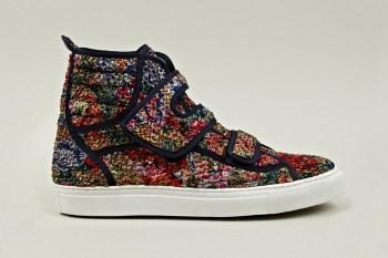 Raf Simons Classic Floral Velcro Sneaker