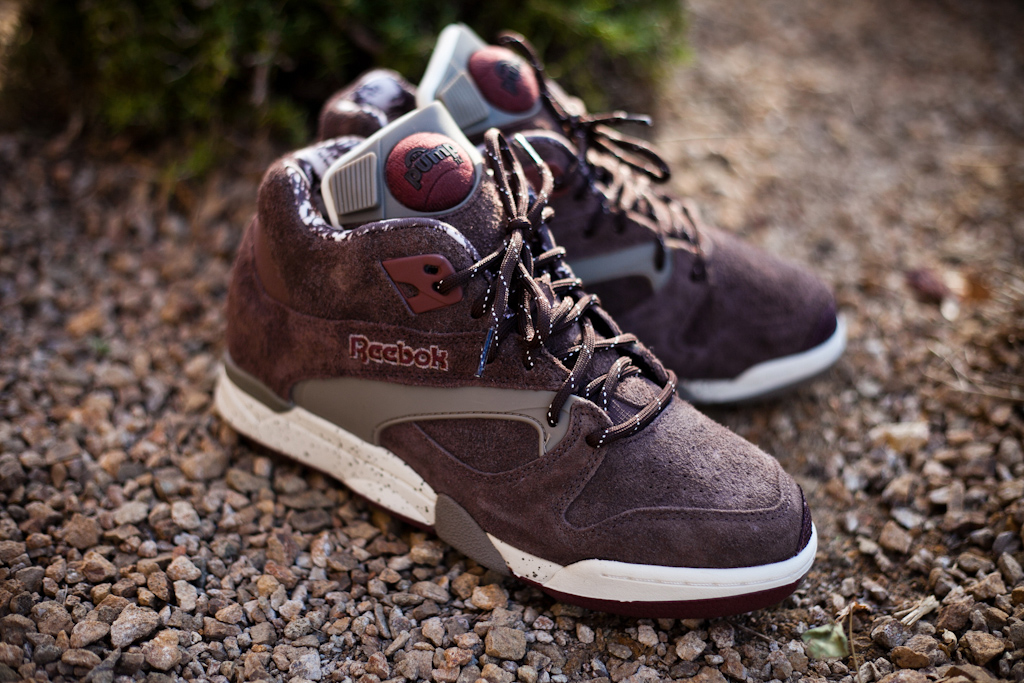 """Reebok Court Victory Pump """"Grizzly"""""""