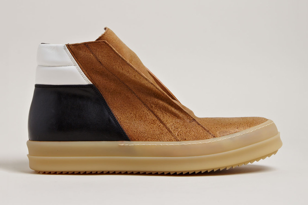 rick owens mens island dunk shoes