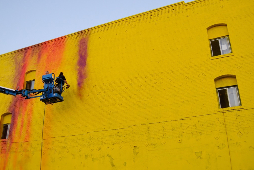 RISK Sheds Light on the Skid Row Freewalls Project