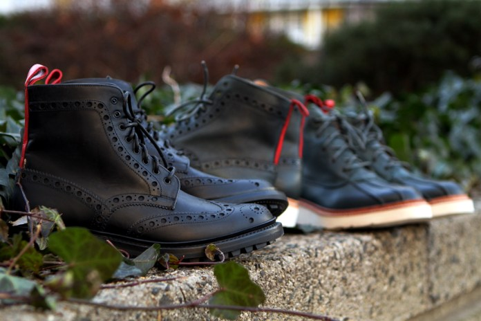 Ronnie Fieg x Grenson 2013 Capsule Collection