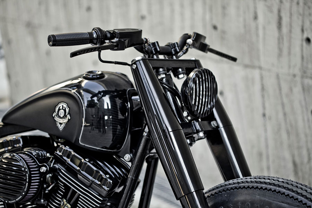 Rough Crafts x Roland Sands Design Shadow Rocket Motorcycle