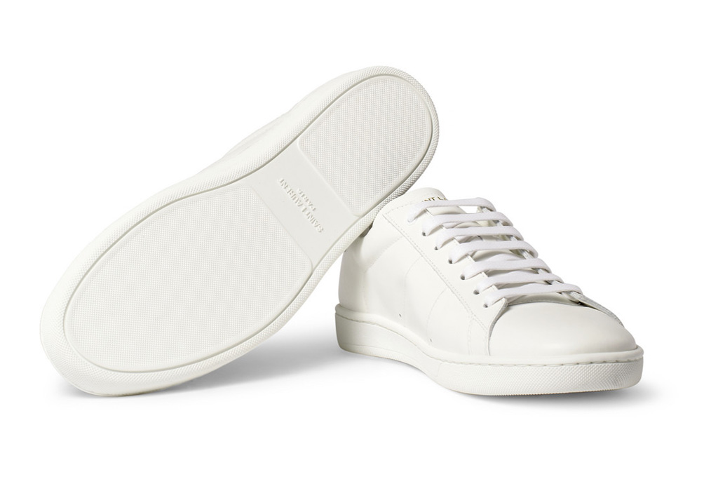 saint laurent 2013 spring summer leather sneakers