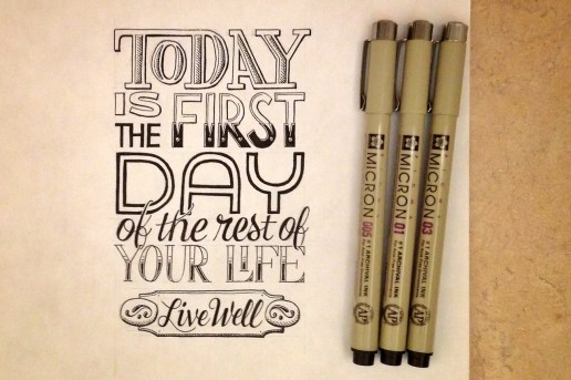 Sean McCabe's Hand-Lettered Quotes