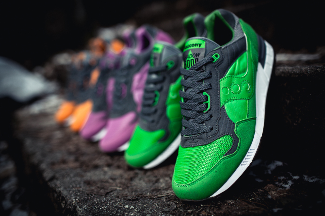 """Solebox x Saucony Shadow 5000 """"Three Brothers"""" Part 2"""