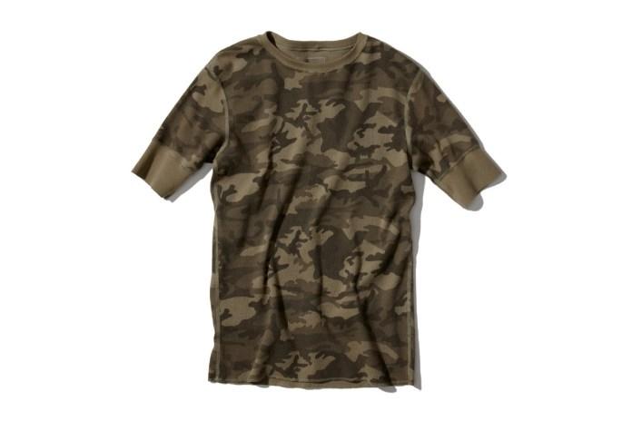 SOPHNET. Camouflage Waffle Shirts & Pants