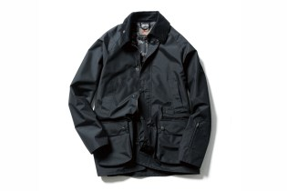 SOPHNET. x Barbour Bedale Jacket