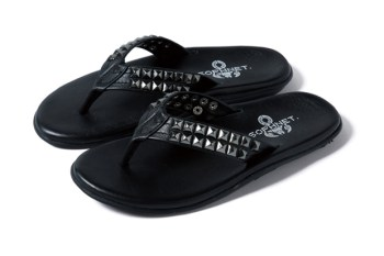 SOPHNET. x Island Slipper Stud Sandals