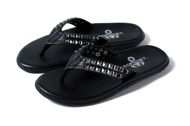 sophnet x island slipper stud sandals