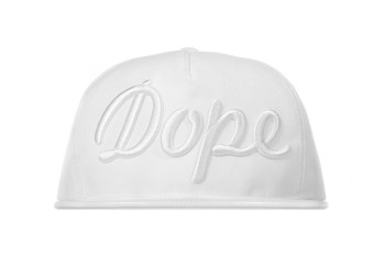 """Stampd All-White """"Dope"""" Hat"""