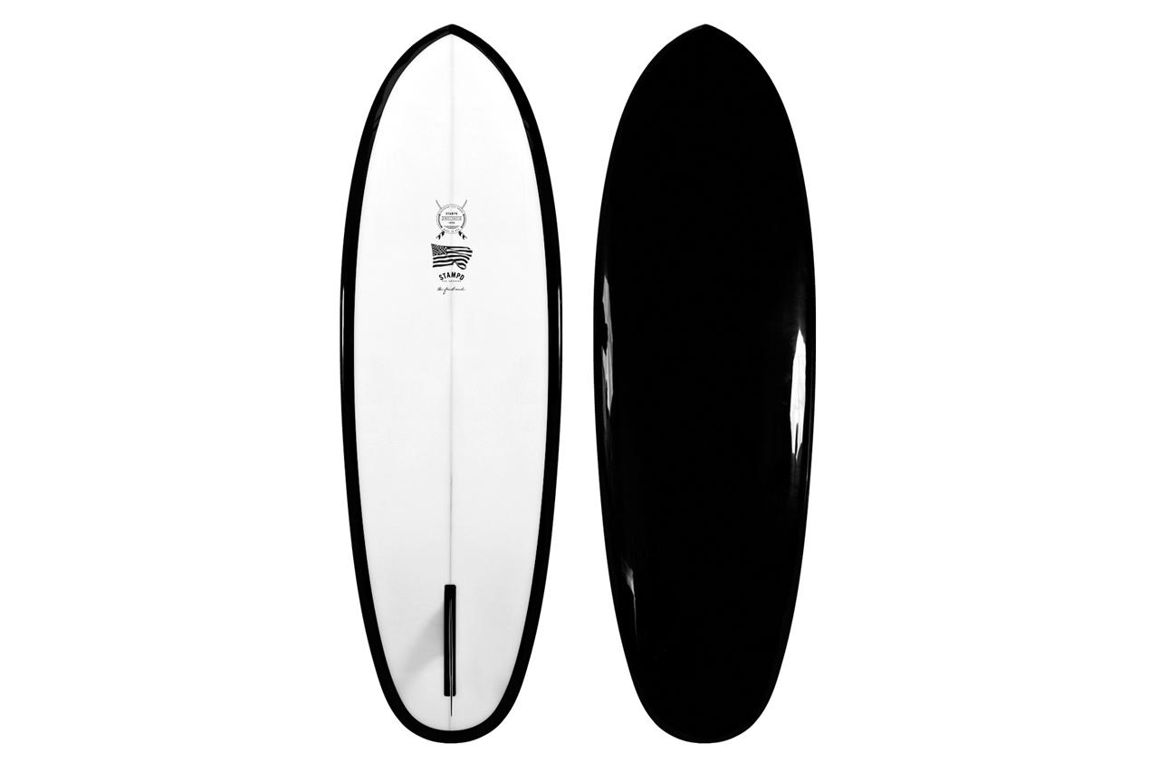 Stampd Black Summit Surfboard