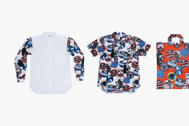 star wars x comme des garcons shirt 2013 spring summer collection