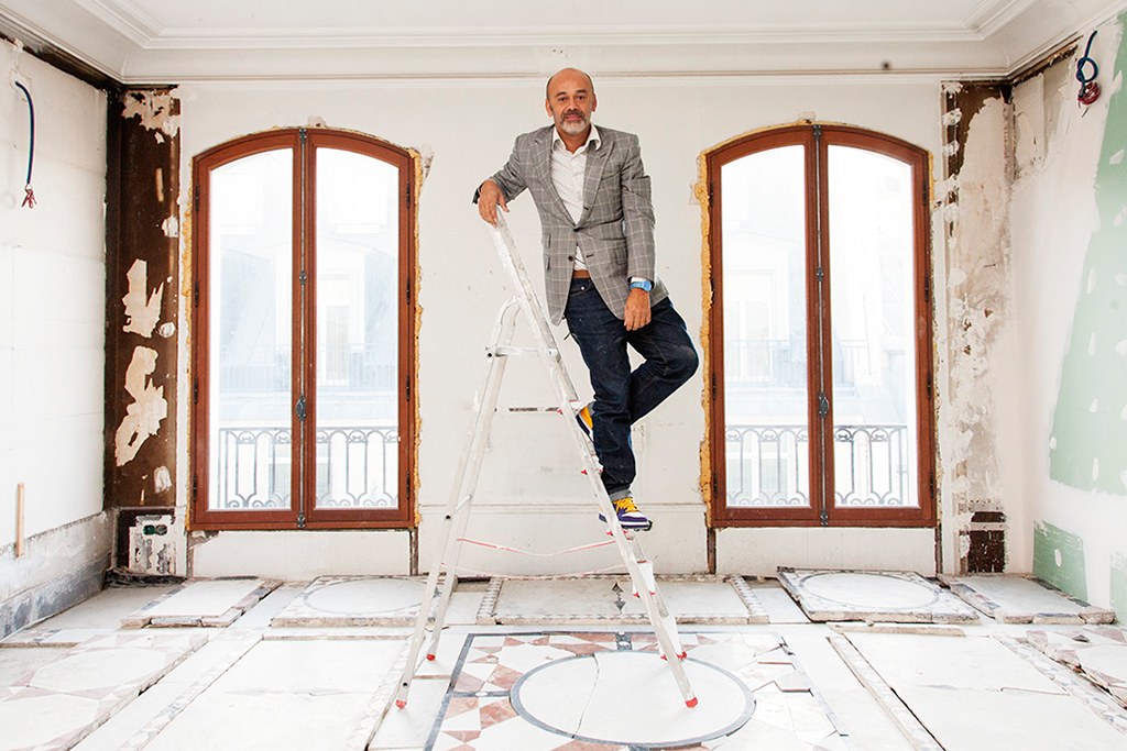 the selby visits christian louboutins home and studio in paris