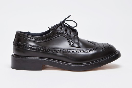 Tricker's for Très Bien Longwing Brogue Cordovan Cipresso