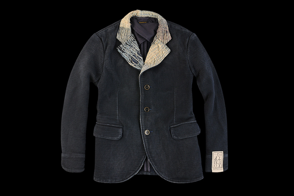Kapital Indigo Sashiko Hobo Jacket