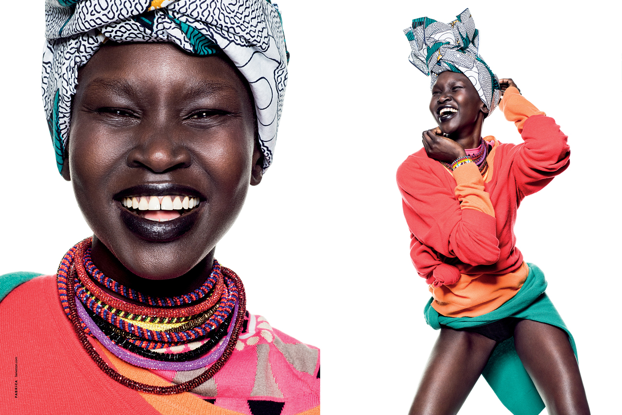 "United Colors of Benetton 2013 Spring/Summer ""COLOR"" Campaign"