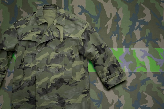 Valentino 2013 Spring/Summer Camouflage Collection
