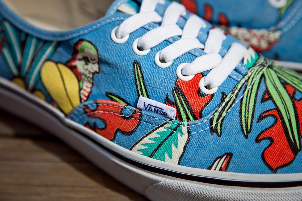 """Vans California Van Doren Series 2013 Spring Authentic CA """"Parrot"""""""