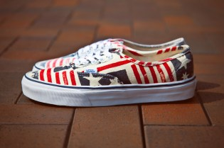 "Vans California Van Doren Series 2013 Spring Authentic CA ""Retro Flag"""