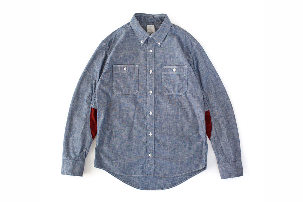 visvim 2013 Spring ONEIDA CHAMBRAY L/S (LUXSIC) *F.I.L. EXCLUSIVE