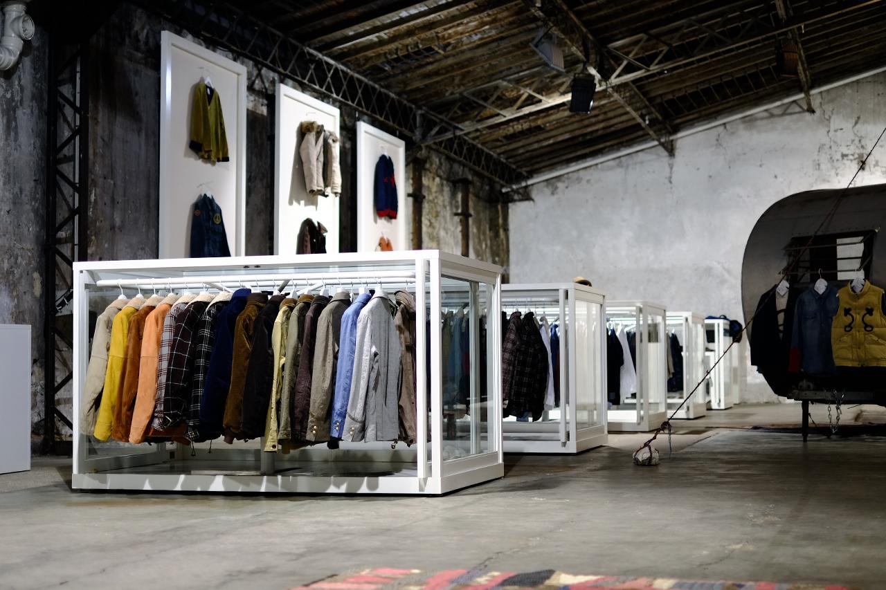 visvim 2013 fall winter paris showroom