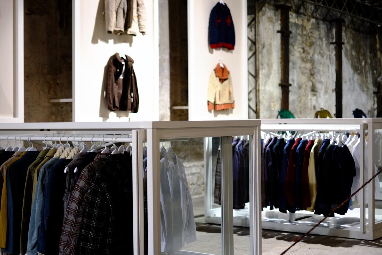 visvim 2013 Fall/Winter Paris Showroom