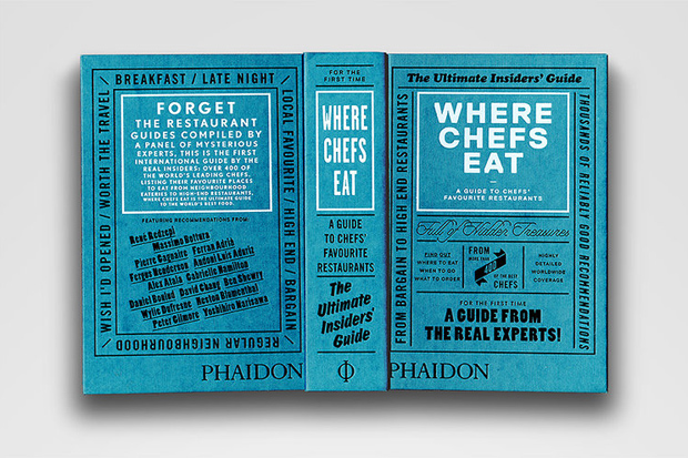 Where Chefs Eat by Phaidon
