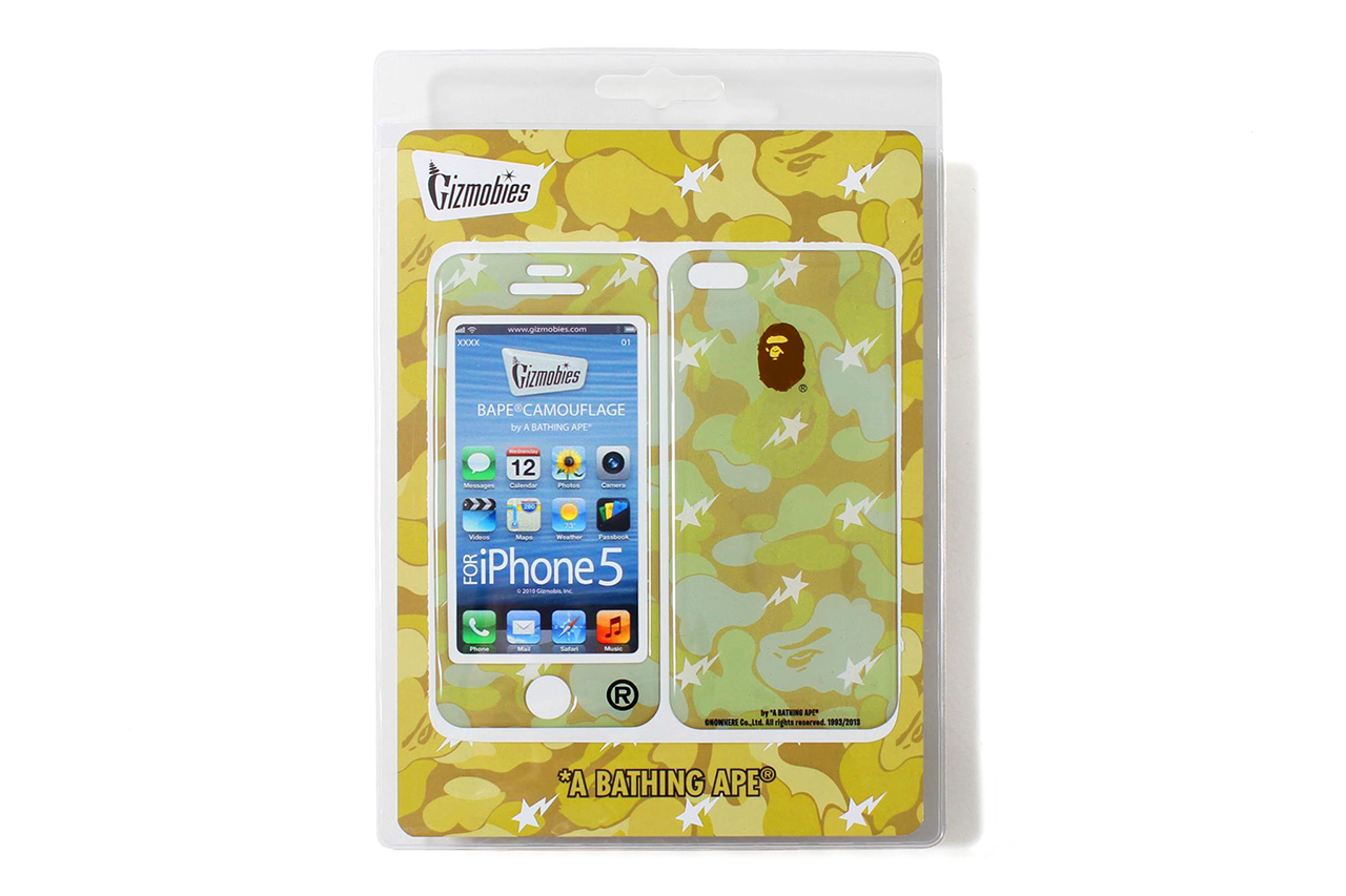 a bathing ape gizmobies 2013 spring summer iphone 5 protector