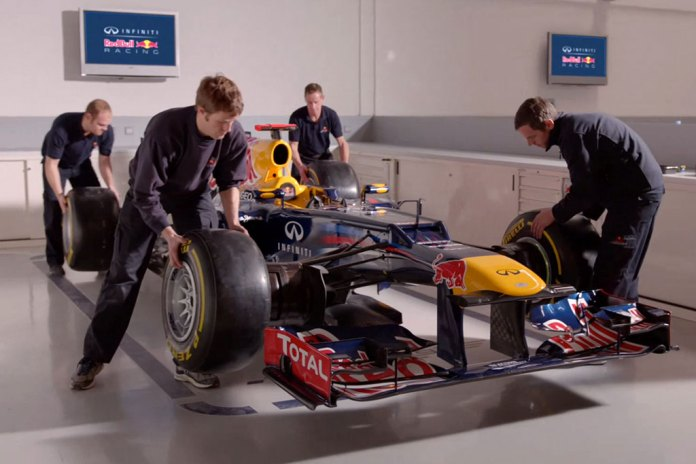 A Look at the Production of Red Bull Racing's RB9