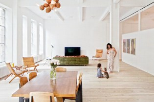 A Look Inside James Jebbia's Greenwich Village Loft