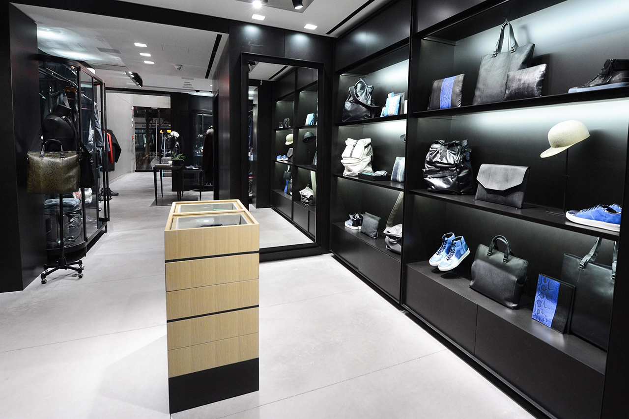 A Look Inside Lanvin's Newly Opened New York City Men's Boutique
