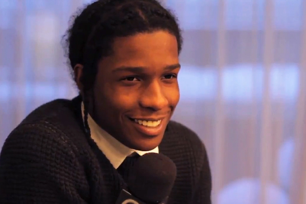 A$AP Rocky Sits Down with OFIVE TV in Paris