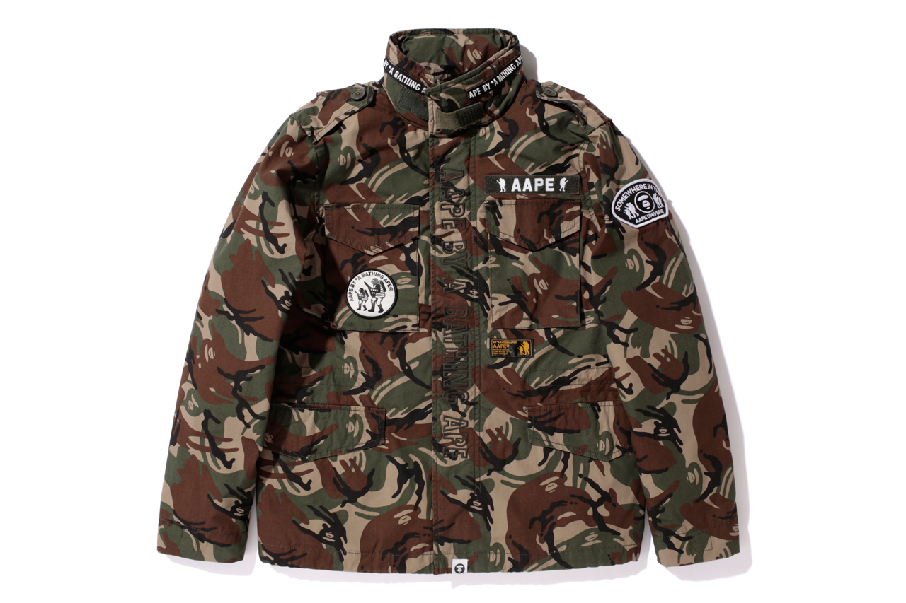 """AAPE by A Bathing Ape 2013 Spring """"Foot Soldier"""" Collection"""
