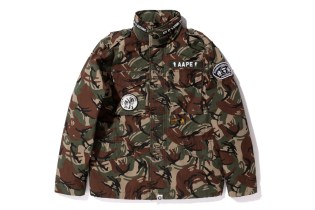 "AAPE by A Bathing Ape 2013 Spring ""Foot Soldier"" Collection"