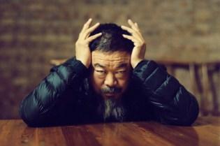 Ai Weiwei In His Beijing Studio by Jamie Hawkesworth
