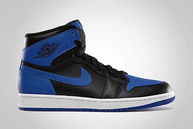 air jordan 1 retro high og black varsity royal black