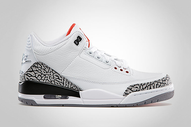 Air Jordan 3 Retro '88 White/Cement Grey