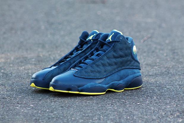 "Air Jordan 13 Retro ""Squadron Blue"""